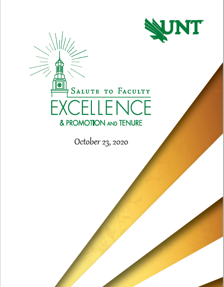 Cover page of program with Hurley Building in green.