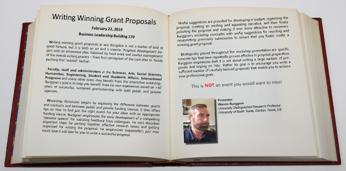 How to Write Winning Grant Proposals | Office of the Provost
