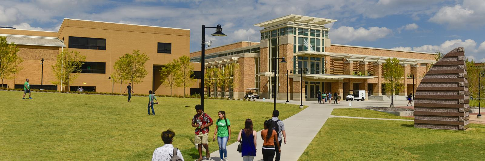 UNT Student Union Building