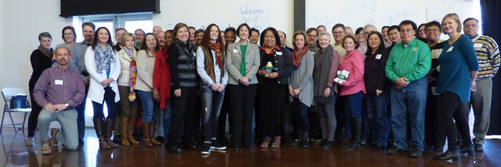 January 2018 Cohort, Art of Participatory Leadership